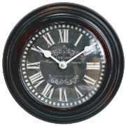 アンドグラッド European Antique Wall Clock 21cm #20236