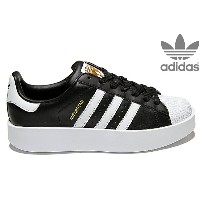adidas Originals SUPERSTAR BD W BA7667 CORE BLACK/RUNNING WHITE/GOLD METTアディダス オリジナルス スーパースター ボールド...