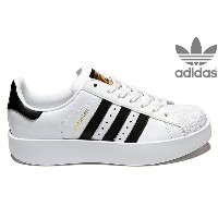 adidas Originals SUPERSTAR BD W BA7666 RUNNING WHITE/CORE BLACK/GOLD METTアディダス オリジナルス スーパースター ボールド...