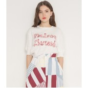 RIBBED TEE-SHIRT STRIPED MK