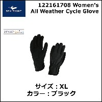 SEALSKINZ APA 122161708 Women's All Weather Cycle Glove XL ブラック 自転車 グローブ