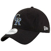 ニューエラ メンズ 帽子 キャップ【New Era MLB Core Classic Adjustable Cap】Black