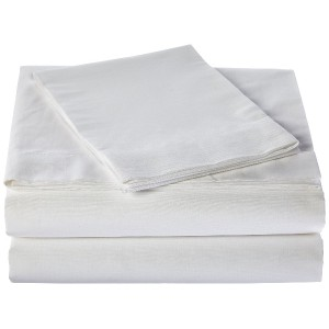 Hermell Products Hospital Flat Bed Sheet
