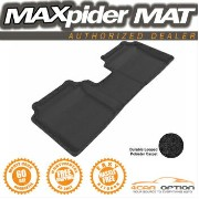 Hyundai Elantra フロアマット Fits: 3D Maxpider Black Floor Mat Classic Carpet 11-13 Hyundai Elantra Sedan...