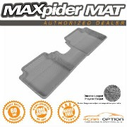 Hyundai Veloster フロアマット Fits: 3D Maxpider 12-15 Hyundai Veloster Gray Floor Mat Classic Carpet 1Pc...