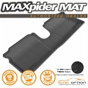 Toyota Yaris フロアマット 3D Maxpider Black Floor Mat Classic Carpet 1Pc 12-13 Toyota Yaris Hatchback 3D...