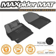 Scion xB フロアマット 13-15 Scion xB Black 3D Maxpider Classic Floor Mat Carpet 2Pcs 1St Row R1 13...