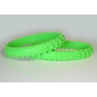 RIDE ON Wristbands (Knobby Bands)Green リストバンド