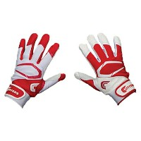カッターズ メンズ 野球 グローブ 手袋【Cutters Power Control 2.0 Yin Yang Batting Glove】Red/White