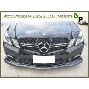 ベンツ グリル E63AMG Look Front Grille For Mercedes-BENZ W212 E-Class Sedan/Wagon 2010-2013 メルセデスベンツW212...