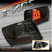 スバル インプレッサ テールライト Smoked LED Tail Lights for Subaru Impreza Sedan GE GH 07-13 WRX STi R RS RX RV...