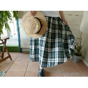 O'NEIL OF DUBLIN(オニールオブダブリン) SWING SKIRT(ON801)