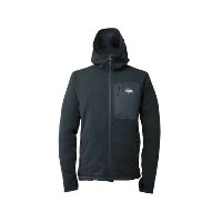 ポールワーズ(POLEWARDS) MICRO GRID PEAKS HOODY MS メンズ フリースジャケット PWM14A0080 BLK (Men's)