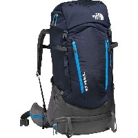 (取寄)ノースフェイス テラ 65 バックパック The North Face Men's Terra 65 Backpack Urban Navy/Hyper Blue