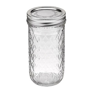 mj-81400 12oz(355ml) クリア (ボール) Ball メイソン ジャー Ball Quilted Crystal Jelly Jars【81400】容器 12oz 355ml...