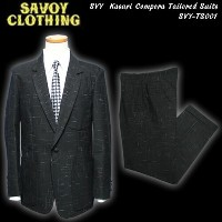 SAVOY CLOTHINGサヴォイクロージング◆SVY Kasuri Compora Tailored Suitsカスリ・コンポラスーツ◆SVY-TS001