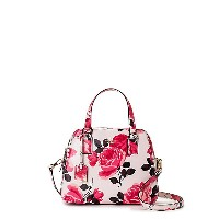 <kate spade new york(ケイト・スペード)> CAMERON STREET ROSES LITTLE BABE(PXRU7525) PINK SAND バッグ~~ハンドバッグ