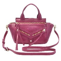 ボトキエ BOTKIER TRIGGER MINI SATCEL 2WAYハンドバッグ 340140 LEATHE DLSAN