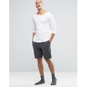 Jack Wills Jersey Lounge Shorts ショーツ In Charcoal
