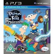 Phineas and Ferb Across the 2nd Dimension (PS3) (輸入版)