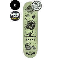 【CREATURE クリーチャー】8.0in x 31.6in REYES TANKED PRO DECKデッキ ライアン・レイズ スケートボード SKETCHY TANK スケッチー・タンク 蓄光...