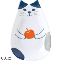 "Decole「Happy catday "" Mini Dish ""フルーツの猫」 ZHD-87747"