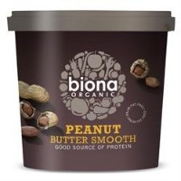 Biona Org Peanut Butter Smooth 1000 g (order 6 for retail outer) / Biona組織ピーナッツバタースムーズ千グラム(小売著者ため6 )