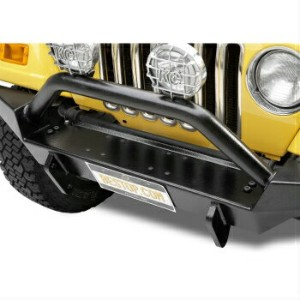Jeep ジープ グリルガード 42906-01 Bestop HighRock 4x4 Tubular Grille Guard for Jeep Wrangler 1987-2006...