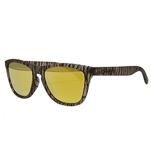 (オークリー) Oakley FROGSKINS SUNGLASSES URBAN JUNGLE COLLECTION OO9245-24 ASIAN FITMATTE SEPIA/24K...