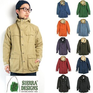 (SpecialSale 10%OFF) (シェラデザインズ) SIERRA DESIGNS #60/40 Mountain Parka (7910) ロクヨン マウンテンパーカ マウンパ Men...