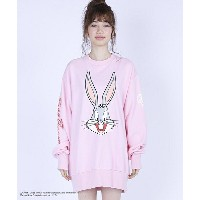 【Little sunny bite(リトルサニーバイト)】LSB-LTOP-025G-loony tuns★ little sunny bite : bugs bunny big sweater...