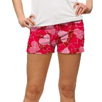 LoudMouth Ladies Sweethearts Mini Shorts【ゴルフ レディース>パンツ】