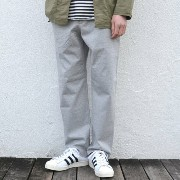 AURALEE(オーラリー)/ STAND-UP EASY PANTS -TOP GRAY-