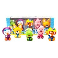 Pororo & Friends Bath Toy (5pcs) [並行輸入品]