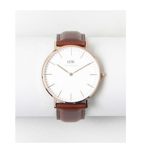ROSSO Daniel Wellington CLASSIC ST ANDREWS/36【アーバンリサーチ/URBAN RESEARCH レディス 腕時計 ROSE GLD/LBRN ルミネ...