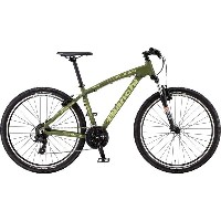 【代引不可】17ビアンキ KUMA27.4 SHIMANO 3x8sp V-BRAKE Matt Military Green