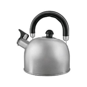 【並行輸入】Copco Halo 1.2-Quart Brushed Stainless Steel Teakettle ステンレス製ケトル