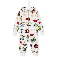 Moschino Kids プリントスウェットセットアップ