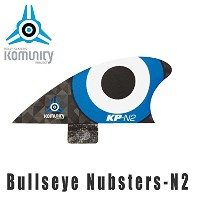 KOMUNITY PROJECT コミュニティ フィン Bullseye Nubsters-N2 ブルー