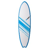 "NSP 2016 SURFBOARD Elements FISH 6'4"" BLUE C304450"