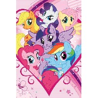 My Little Pony Poster - Characters (61cm x 91,5cm)