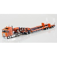 Drake - Kenworth K200 with Drake 4x8 Dragline Bucket Trailer and 2x8 Dolly トラック トレーラー /DRAKE 建設機械模型...