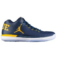 "Nike Air Jordan XXX1 31 XXXI Low ""Michigan"" メンズ College Navy/Amarillo ジョーダン ナイキ カレッジ NCAA"