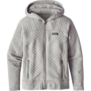 パタゴニア Patagonia レディース トップス パーカー【Cotton Quilt Full-Zip Hoodie】Drifter Grey