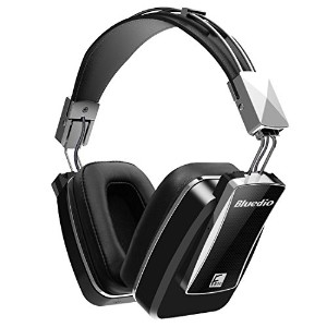 Bluedio F800 アクティブ Noise Cancelling Foldable オーバー-ear Wireless ブルートゥース Headphones with Mic(Black) ...