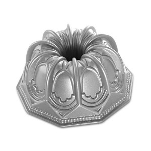 Nordic Ware Vaulted Cathedral Bundt Pan, Metallic by Nordic Ware