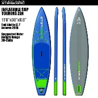 "SUP インフレータブル SUP 11'6""x30"" ツーリング ゼン STARBOARD INFLATABLE SUP TOURING ZEN 11'6""x30"" 2017 サップ S.U.P..."