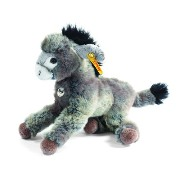 Steiff 280337 シュタイフ ぬいぐるみ ロバ 's Little Friend Issy Donkey (Grey/ Beige)