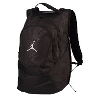 NIKE JORDAN COURT TIME BACKPACK バックパック BLACK (9A1118 KK2) [並行輸入品]