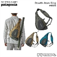 【PATAGONIA パタゴニア バッグ】48326<Stealth Atom Sling ステルス アトム スリング15L>※取り寄せ品